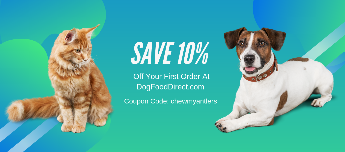 Save 10% on Your First DogFoodDirect.com Order