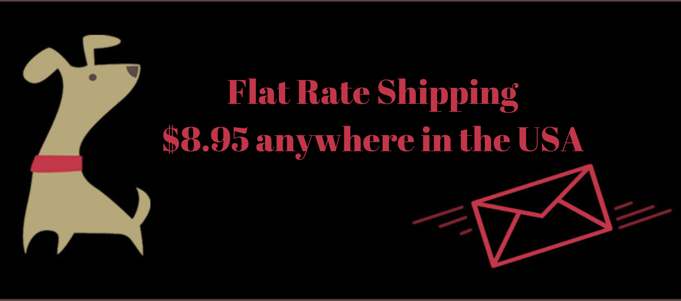 Flat Rate Shipping $8.95